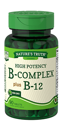 High Potency B-Complex Plus B-12