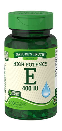 Vitamin E 400 IU with Natural D-Alpha