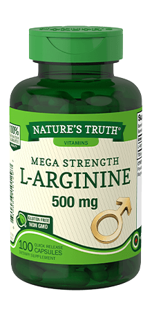 Mega Strength L-Arginine 500 mg
