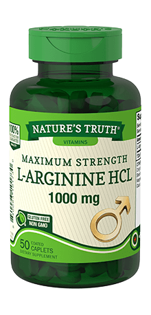 Maximum Strength L-Arginine HCL 1000 mg