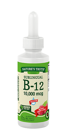 Sublingual Liquid B-12 10,000 mcg