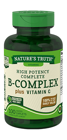 High Potency B-Complex plus Vitamin C