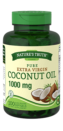 Extra Virgin Coconut Oil 1000 mg Softgel