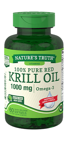 100% Pure Red Krill Oil 1000 mg