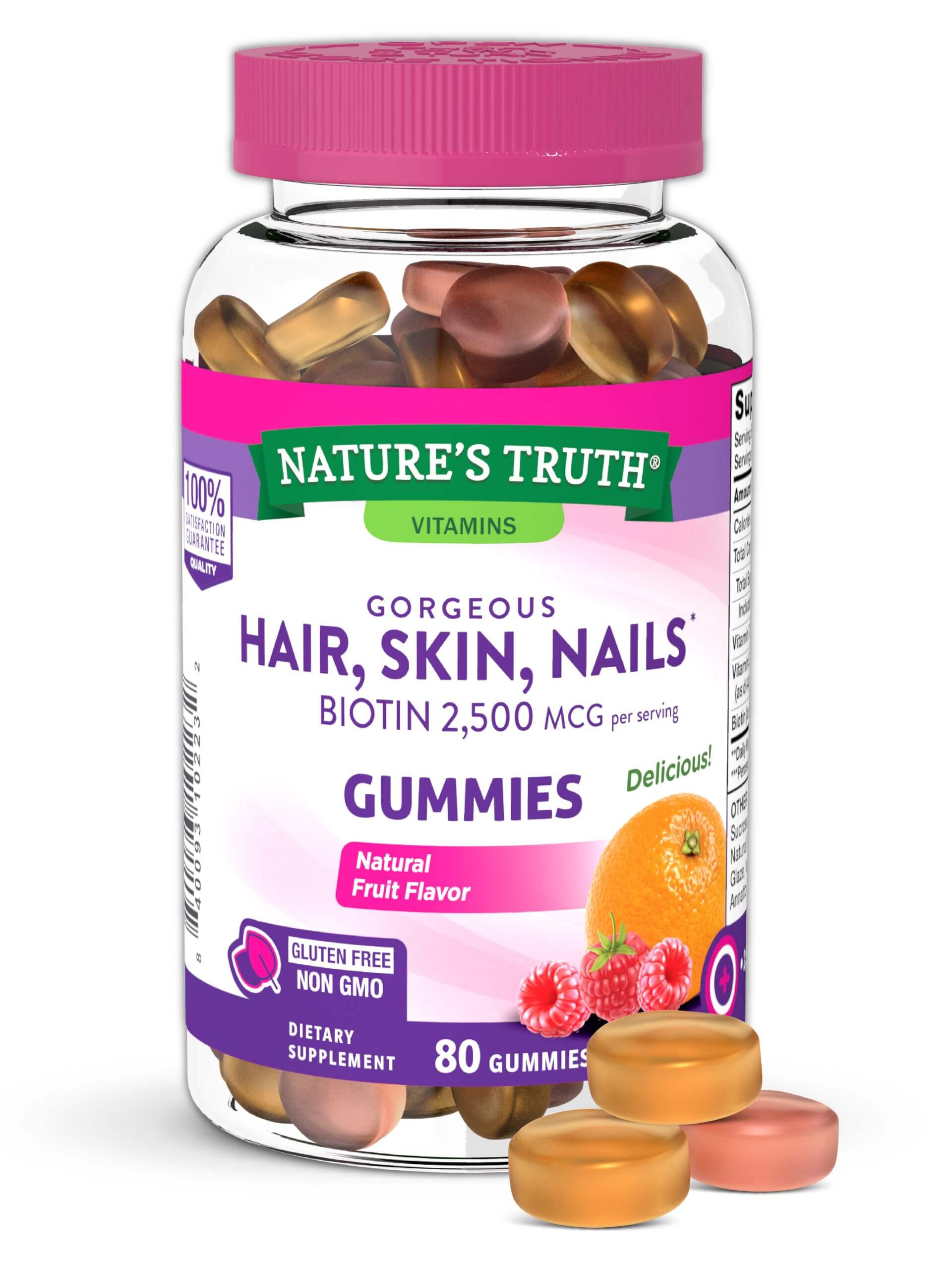 Gorgeous Hair, Skin & Nails* Gummies