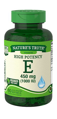 High Potency Vitamin E 450 mg (1,000 IU)