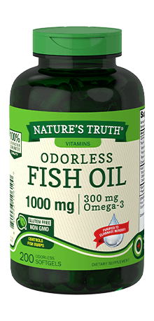 Odorless Fish Oil 1,000 mg