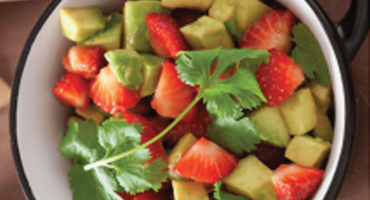Picnic Recipe: Strawberry Avocado Salsa