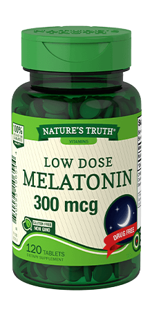 Low Dose Melatonin 300 mcg