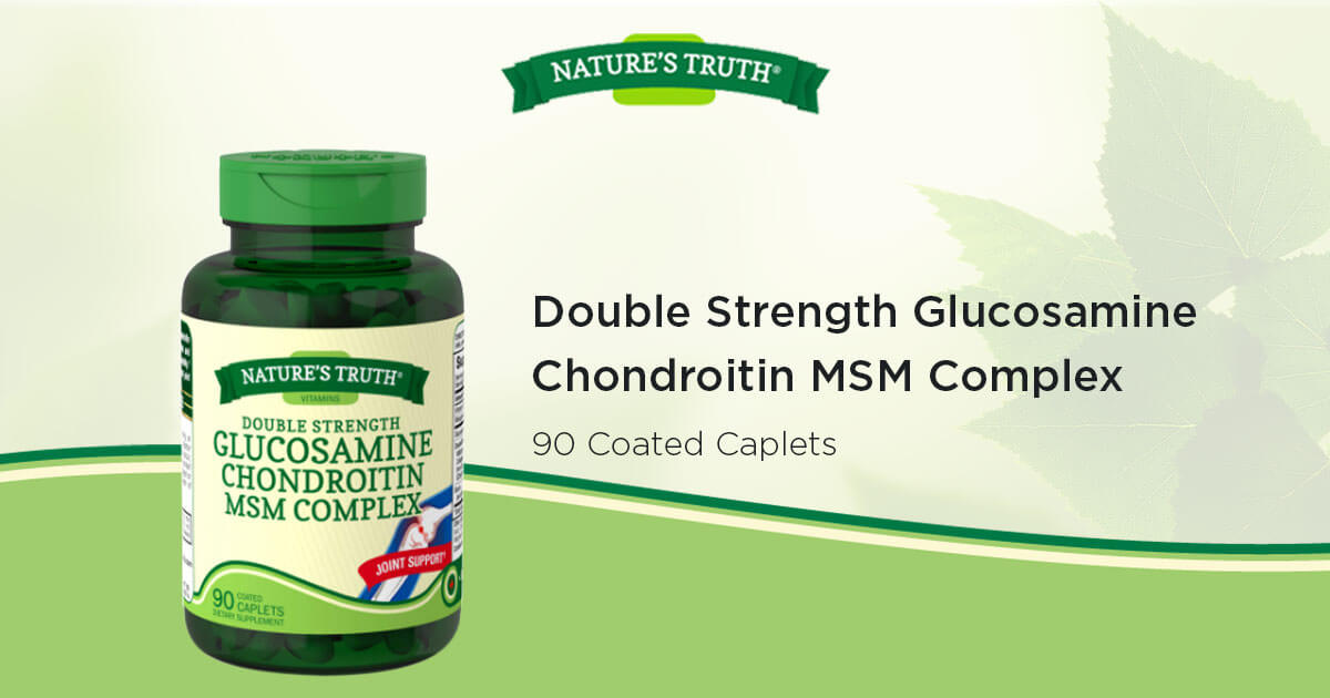 Double Strength Glucosamine Chondroitin Msm Complex
