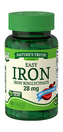 Easy Iron Bisglycinate 28 mg