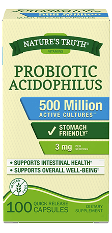 Probiotic Acidophilus 3 mg