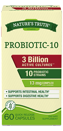 Probiotic-10 3 Billion 60 Caps
