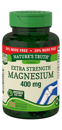 Extra Strength Magnesium 400 mg