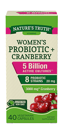 Women's Probiotic plus Cranberry
