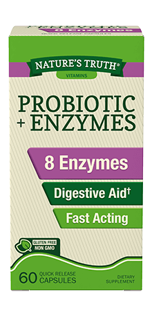 Probiotic plus Enzymes