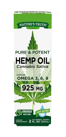 Liquid Hemp Oil 925 mg