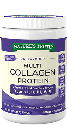 Unflavored Multi Collagen Protein Powder