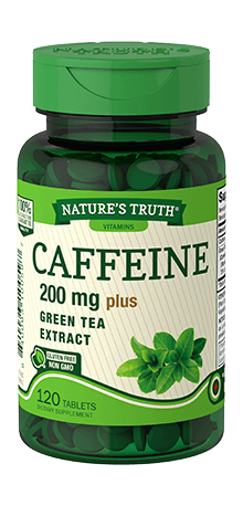 Caffeine 200 mg plus Green Tea Extract