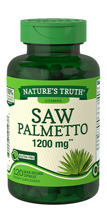 Saw Palmetto 1200 mg**