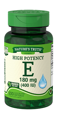 High Potency Vitamin E 180 mg (400 IU)