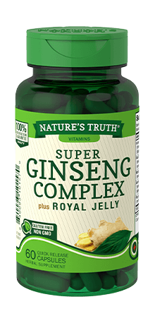 Super Ginseng Complex 800 mg<br> plus Royal Jelly