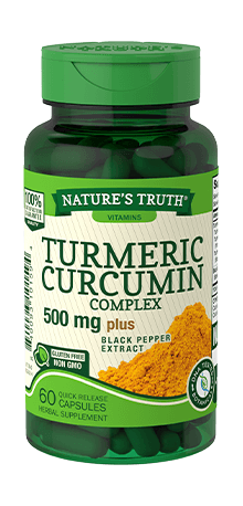 Turmeric Curcumin Complex 500 mg plus Black Pepper