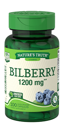 Bilberry 1200 mg**