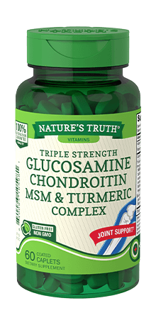 Triple Strength Glucosamine Chondroitin <br>MSM & Turmeric Complex