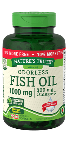 Odorless Fish Oil 1000 mg