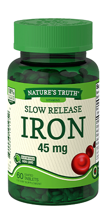 Slow Release Iron 45 mg