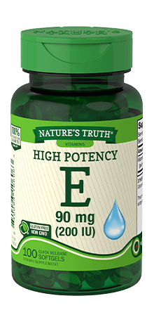 High Potency Vitamin E 90 mg (200 IU)
