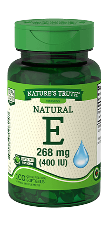 Natural Vitamin E 268 mg (400 IU)