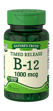 Timed Released Vitamin B-12 1000 mcg